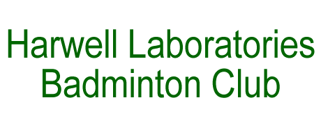 Harwell Laboratories Badminton Club